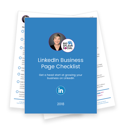 LinkedIn Business Page Checklist Image